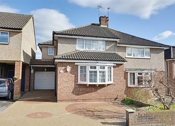 Thumbnail 3 bed semi-detached house for sale in Cheyne Close, Ware, Hertfordshire