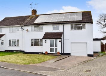 Thumbnail 4 bed semi-detached house for sale in Somerset Avenue, Taunton