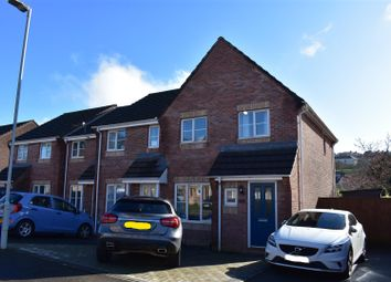 Thumbnail 3 bed end terrace house for sale in Eastfield Close, Townhill, Swansea