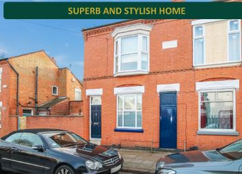 Thumbnail 2 bed terraced house for sale in Denton Street, Western Park, Leicester