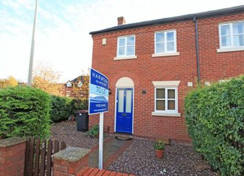 Thumbnail 3 bed semi-detached house to rent in Barkers Court, Madeley, Telford