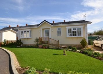 Thumbnail 2 bed mobile/park home for sale in Poplars Park, Dursley Road, Cambridge, Gloucester