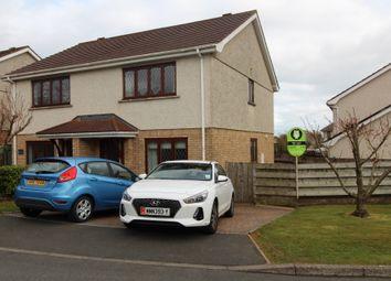 Thumbnail 2 bed semi-detached house to rent in Bramble Close, Saddlestone, Douglas, Isle Of Man