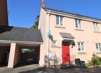 Thumbnail 2 bedroom terraced house to rent in Redvers Way, Tiverton