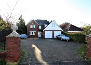 Thumbnail 5 bed detached house for sale in Finborough Road, Stowmarket