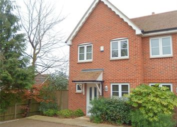 Thumbnail 2 bed semi-detached house to rent in Colden Common, Winchester, Hampshire