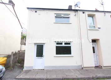 Thumbnail 2 bed end terrace house for sale in Park View, Waunlwyd, Ebbw Vale, Blaenau Gwent.
