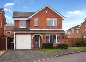 Thumbnail 4 bed detached house for sale in Hedingham Road, Leegomery Telford