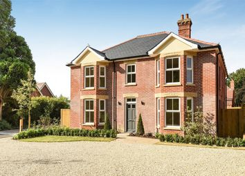 Thumbnail 4 bed detached house for sale in Romsey Road, Awbridge, Romsey, Hampshire
