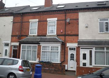 Thumbnail 4 bedroom terraced house for sale in Rosebery Road, Smethwick