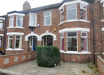 Thumbnail 3 bed terraced house for sale in Murrayfield Road, Hull