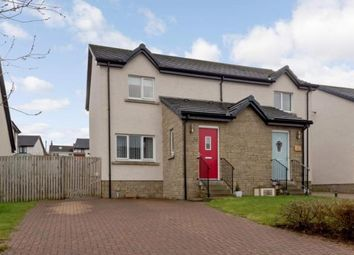 Thumbnail 2 bed semi-detached house for sale in Bard Drive, Tarbolton, Mauchline, South Ayrshire