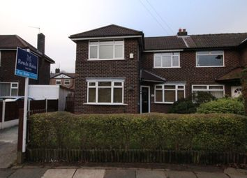 Thumbnail 3 bedroom semi-detached house for sale in Roundwood Road, Northenden, Manchester