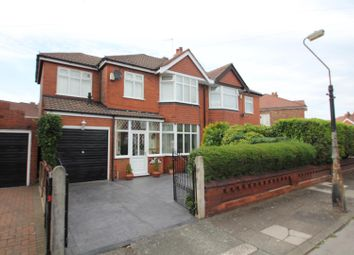 Thumbnail 3 bedroom semi-detached house for sale in Braemar Avenue, Stretford, Manchester