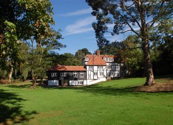 Thumbnail 4 bed detached house to rent in Trumps Mill House, Trumps Mill Lane, Virginia Water