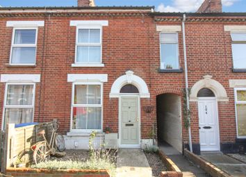 Thumbnail 3 bed terraced house for sale in Caernarvon Road, Norwich