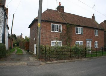 Thumbnail 2 bed cottage to rent in Easole Street, Nonington, Dover