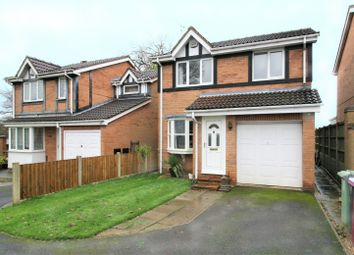 Thumbnail 3 bed detached house for sale in Longcroft Close, New Tupton, Chesterfield