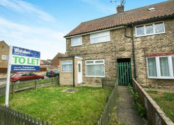 Thumbnail 3 bed terraced house to rent in Bickleigh Grove, Longhill, Hull