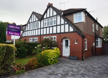 Thumbnail 4 bed semi-detached house for sale in Tenby Road, Cheadle Heath