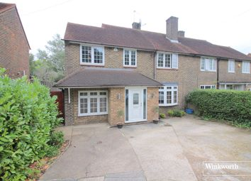 Thumbnail 4 bedroom semi-detached house for sale in Furzehill Road, Borehamwood, Hertfordshire