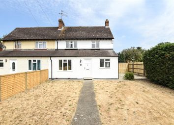 Thumbnail 3 bed semi-detached house for sale in Barker Road, Chertsey, Surrey