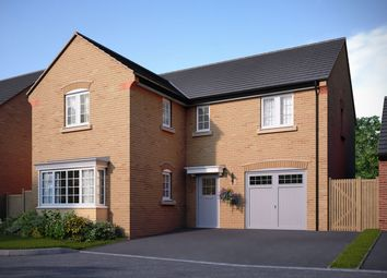 "Thumbnail 4 bed detached house for sale in ""The Sharnbrook"" at Bedford Road, Great Barford, Bedford"