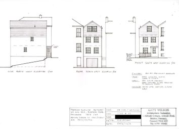 Thumbnail Property for sale in Plot 35/35A Rosevean Road, Penzance