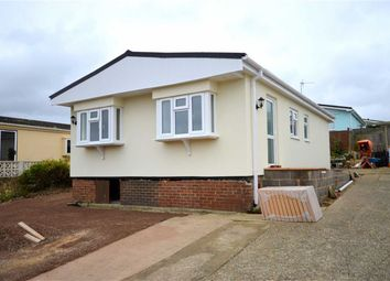 Thumbnail 2 bed mobile/park home for sale in Westwood Park, Bashley Cross Road, New Milton