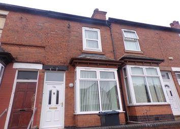 Thumbnail 3 bed property to rent in Farnham Road, Handsworth, Birmingham