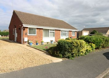 Thumbnail 2 bed semi-detached bungalow for sale in Clare Road, Northborough, Market Deeping, Cambridgeshire
