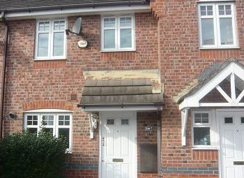 Thumbnail 2 bed mews house to rent in Rolls Ave, Crewe, Cheshire