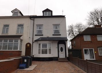 Thumbnail 4 bed property to rent in Victoria Road, Stechford, Birmingham