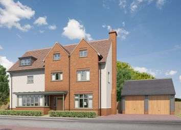 Thumbnail 5 bedroom detached house for sale in Hempstead Road, Radwinter, Saffron Walden