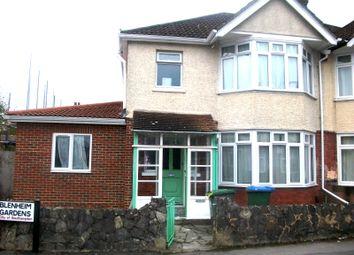 Thumbnail 8 bed property to rent in Blenheim Gardens, Highfield, Southampton