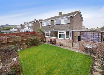 Thumbnail 3 bed semi-detached house for sale in Swinburne Avenue, Willingdon, Eastbourne