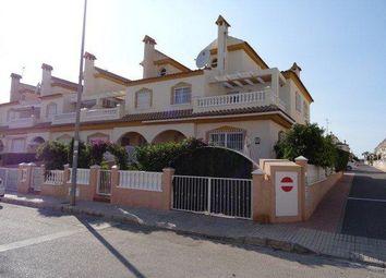 Thumbnail 4 bed end terrace house for sale in Playa Flamenca, Playa Flamenca, Alicante, Valencia, Spain