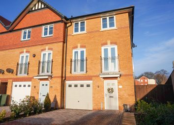 Thumbnail 4 bed town house for sale in Jersey Close, Chelford