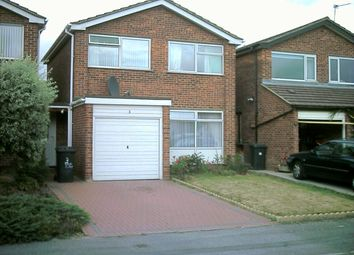 Thumbnail 3 bed detached house to rent in Dennis Close, Littleover, Derby