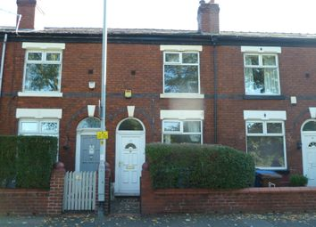 Thumbnail 2 bedroom terraced house to rent in Bramhall Lane, Stockport