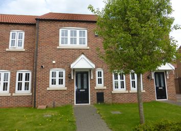 Thumbnail 2 bed terraced house for sale in Hazel Avenue, Crowle, Scunthorpe