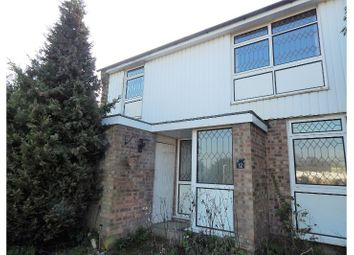 Thumbnail 2 bedroom end terrace house for sale in Culcroft, Longfield