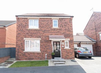 Thumbnail 3 bed detached house for sale in Silverbirch Road, Hartlepool