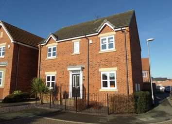 Thumbnail 4 bed detached house to rent in Plymouth Close, Gainsborough