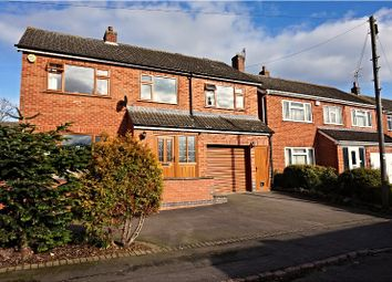 Thumbnail 4 bed detached house for sale in Church Lane, Thrussington