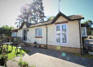 Thumbnail 2 bedroom mobile/park home for sale in California Country Park, Wokingham