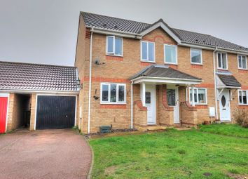 Thumbnail 2 bed end terrace house for sale in Foxglove Road, Attleborough