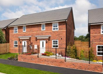 "Thumbnail 3 bed semi-detached house for sale in ""Folkestone"" at Carrs Lane, Cudworth, Barnsley"