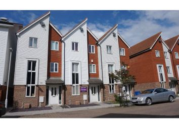 Thumbnail 4 bed terraced house for sale in Edward Vinson Drive, Faversham