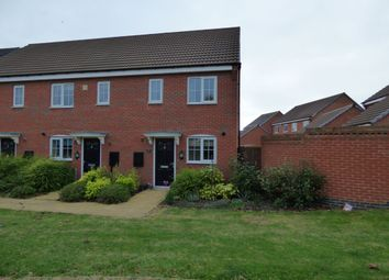 Thumbnail 2 bed terraced house for sale in Baum Crescent, Stoney Stanton, Leicester